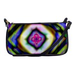 Rippled Geometry  Shoulder Clutch Bag