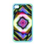 Rippled Geometry  Apple iPhone 4 Case (Color)