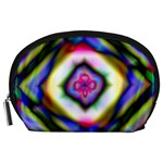 Rippled Geometry  Accessory Pouch (Large)