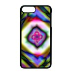 Rippled Geometry  Apple iPhone 7 Plus Seamless Case (Black)