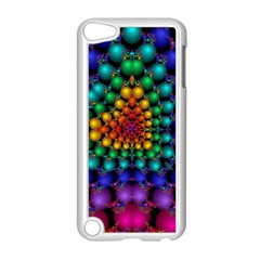 Mirror Fractal Balls On Black Background Apple Ipod Touch 5 Case (white) by Simbadda