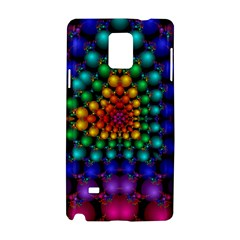Mirror Fractal Balls On Black Background Samsung Galaxy Note 4 Hardshell Case by Simbadda