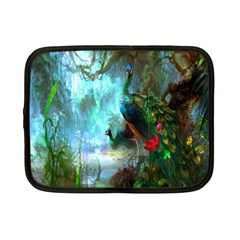 Beautiful Peacock Colorful Netbook Case (small)  by Simbadda
