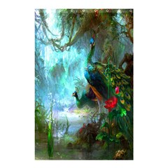 Beautiful Peacock Colorful Shower Curtain 48  X 72  (small)  by Simbadda