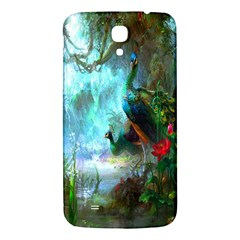 Beautiful Peacock Colorful Samsung Galaxy Mega I9200 Hardshell Back Case by Simbadda