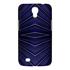 Blue Metal Abstract Alternative Version Samsung Galaxy Mega 6 3  I9200 Hardshell Case by Simbadda