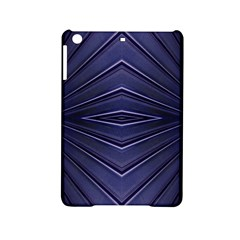 Blue Metal Abstract Alternative Version Ipad Mini 2 Hardshell Cases by Simbadda