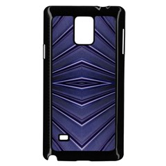 Blue Metal Abstract Alternative Version Samsung Galaxy Note 4 Case (black) by Simbadda