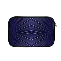 Blue Metal Abstract Alternative Version Apple Macbook Pro 13  Zipper Case by Simbadda