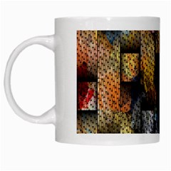 Fabric Weave White Mugs by Simbadda