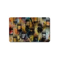 Fabric Weave Magnet (name Card) by Simbadda