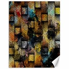 Fabric Weave Canvas 12  X 16   by Simbadda