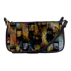 Fabric Weave Shoulder Clutch Bags by Simbadda