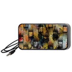 Fabric Weave Portable Speaker (black) by Simbadda