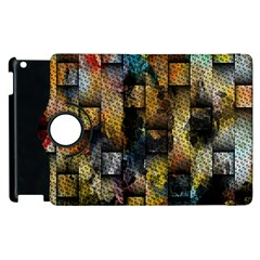 Fabric Weave Apple Ipad 3/4 Flip 360 Case by Simbadda