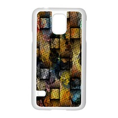 Fabric Weave Samsung Galaxy S5 Case (white) by Simbadda