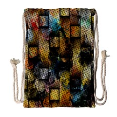 Fabric Weave Drawstring Bag (large) by Simbadda