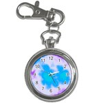 Blue And Purple Clouds Key Chain Watch