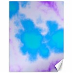 Blue And Purple Clouds Canvas 12  x 16