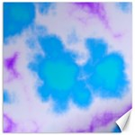 Blue And Purple Clouds Canvas 16  x 16