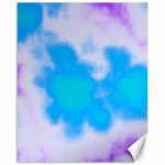 Blue And Purple Clouds Canvas 16  x 20