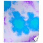 Blue And Purple Clouds Canvas 20  x 24