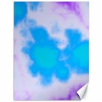 Blue And Purple Clouds Canvas 36  x 48