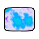 Blue And Purple Clouds Netbook Case (Small)