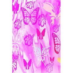 Butterfly Cut Out Pattern Colorful Colors 5 5  X 8 5  Notebooks by Simbadda