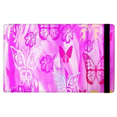 Butterfly Cut Out Pattern Colorful Colors Apple Ipad 3/4 Flip Case by Simbadda