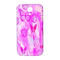 Butterfly Cut Out Pattern Colorful Colors Samsung Galaxy S4 I9500/i9505  Hardshell Back Case by Simbadda