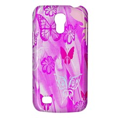 Butterfly Cut Out Pattern Colorful Colors Galaxy S4 Mini by Simbadda