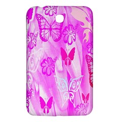 Butterfly Cut Out Pattern Colorful Colors Samsung Galaxy Tab 3 (7 ) P3200 Hardshell Case  by Simbadda