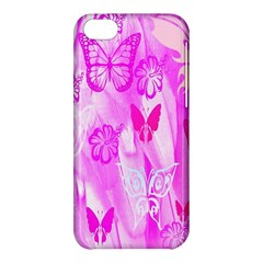 Butterfly Cut Out Pattern Colorful Colors Apple Iphone 5c Hardshell Case by Simbadda