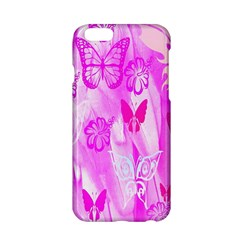 Butterfly Cut Out Pattern Colorful Colors Apple Iphone 6/6s Hardshell Case by Simbadda