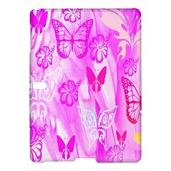 Butterfly Cut Out Pattern Colorful Colors Samsung Galaxy Tab S (10 5 ) Hardshell Case  by Simbadda