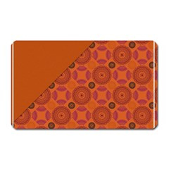 Vintage Paper Kraft Pattern Magnet (rectangular) by Simbadda