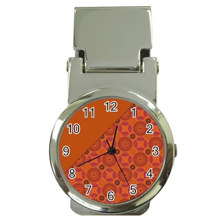 Vintage Paper Kraft Pattern Money Clip Watches