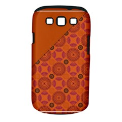 Vintage Paper Kraft Pattern Samsung Galaxy S Iii Classic Hardshell Case (pc+silicone) by Simbadda