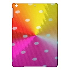 Polka Dots Pattern Colorful Colors Ipad Air Hardshell Cases by Simbadda