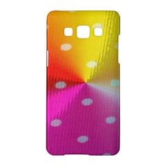 Polka Dots Pattern Colorful Colors Samsung Galaxy A5 Hardshell Case  by Simbadda