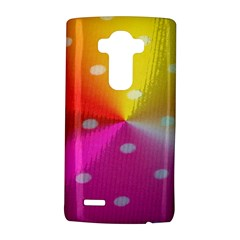 Polka Dots Pattern Colorful Colors Lg G4 Hardshell Case by Simbadda