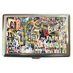 Graffiti Wall Pattern Background Cigarette Money Cases by Simbadda