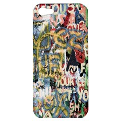 Graffiti Wall Pattern Background Apple Iphone 5 Hardshell Case