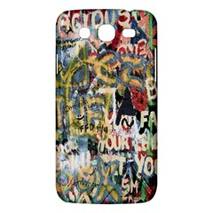 Graffiti Wall Pattern Background Samsung Galaxy Mega 5 8 I9152 Hardshell Case  by Simbadda