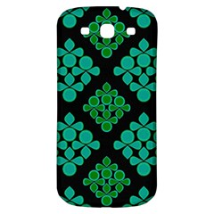 Vintage Paper Kraft Pattern Samsung Galaxy S3 S Iii Classic Hardshell Back Case by Simbadda