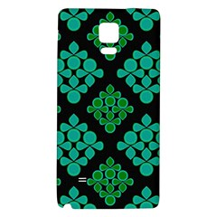 Vintage Paper Kraft Pattern Galaxy Note 4 Back Case by Simbadda