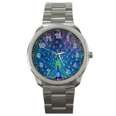 Amazing Peacock Sport Metal Watch by Simbadda
