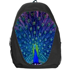 Amazing Peacock Backpack Bag by Simbadda