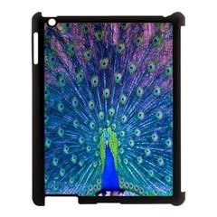 Amazing Peacock Apple Ipad 3/4 Case (black) by Simbadda